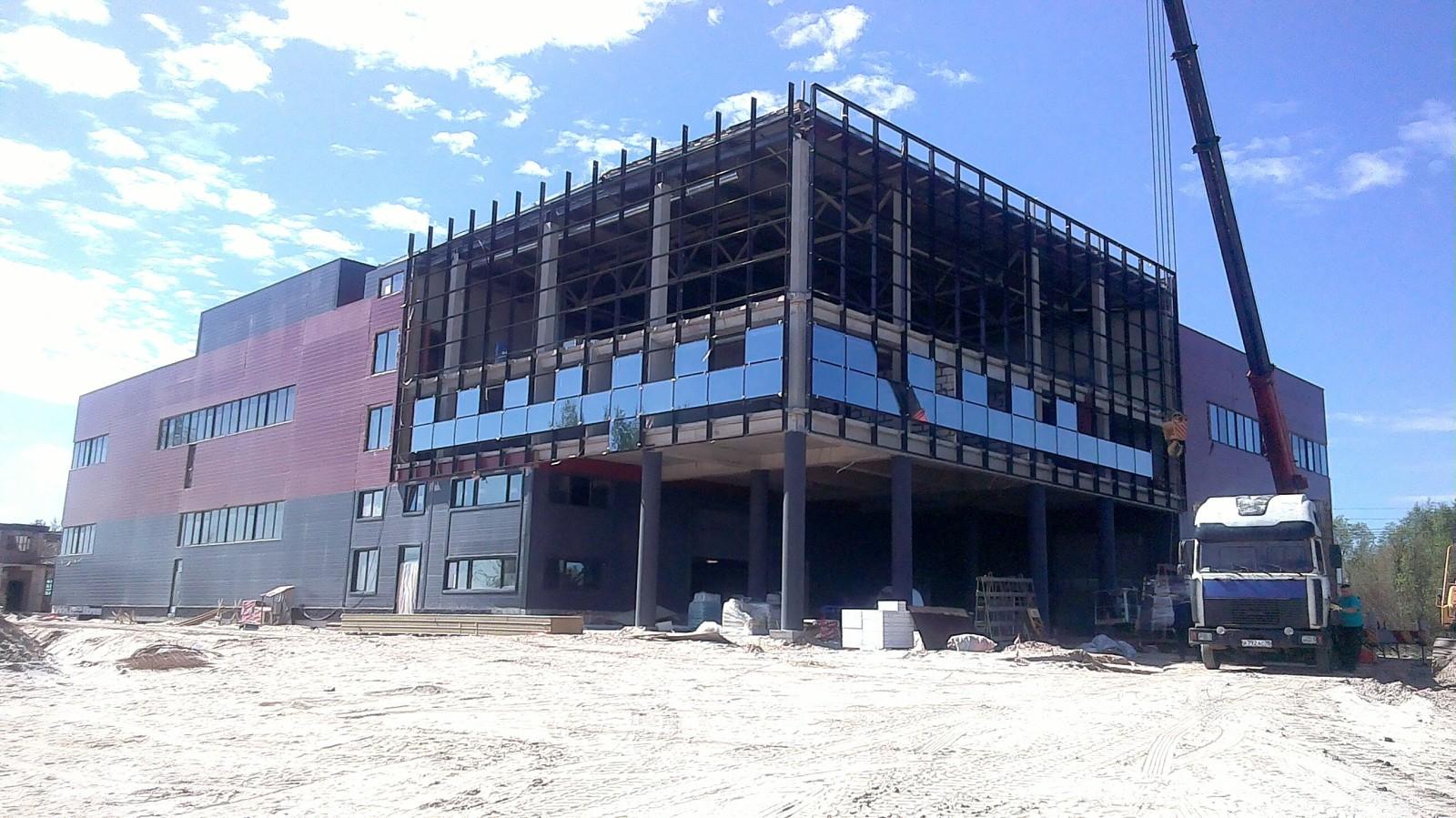 Строительная компания ищет заказчика на строительство складского комплекса строительная компания зенит в Ижевске